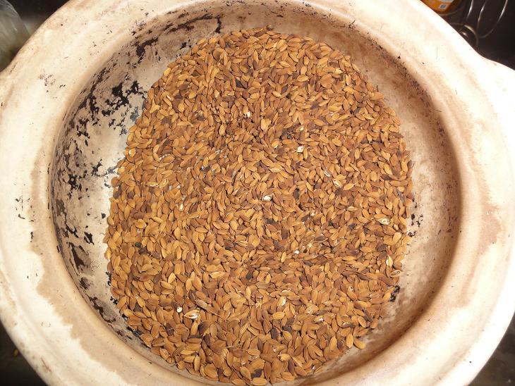 黒焼籾付玄米